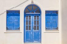 Greek House Facade