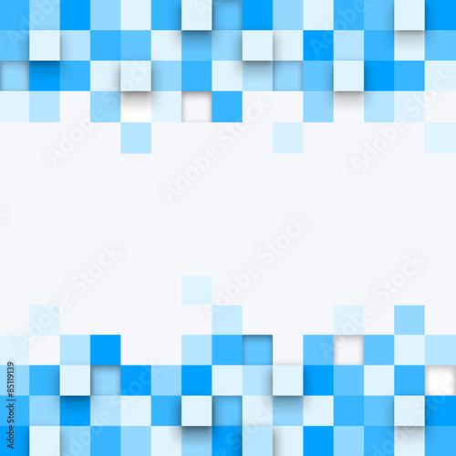 Zdjęcie XXL Ilustracja abstrakcjonistyczna tekstura z kwadratami.
