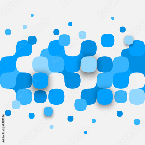 Illustration of abstract texture with squares. © VAlex
