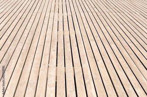 Fotografia, Obraz  Background texture of wooden decking