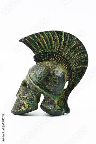 Obraz na plátně Helm griechisch korinthisch