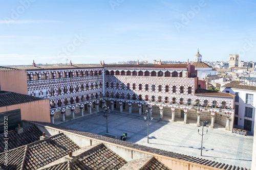 High square (Plaza Alta, Badajoz), Spain
