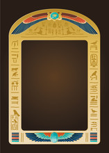 Egyptian Background And Design...