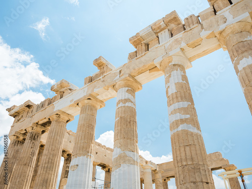 Fotobehang Athene Athen - Parthenon Akropolis