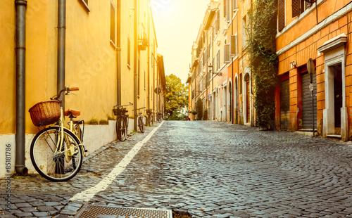 Old street in Rome, Italy © ekaterina_belova