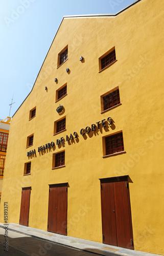 Fotografia  Teatro de las Cortes, Cortes de Cádiz, San Fernando, provincia de Cádiz, Andaluc