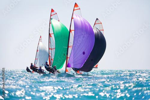 Staande foto Zeilen sailing Regatta