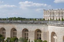 Vue Sur Château De Versailles