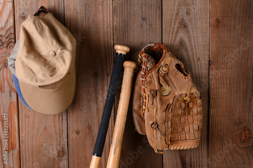 Baseball Still Life Poster