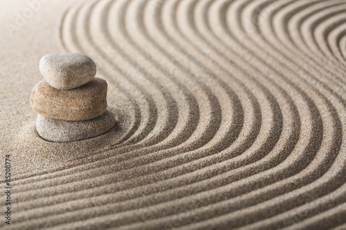 Tuinposter Zen Abstract, art, asian.