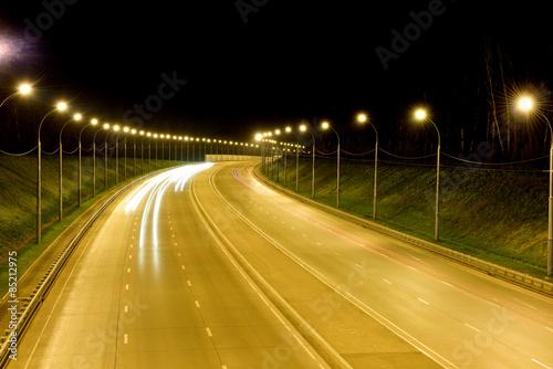 night highway Poster