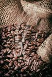 Fototapeta Kawa kawa brązowy