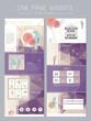 elegant concept one page website design template