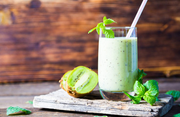 FototapetaGreen smoothie