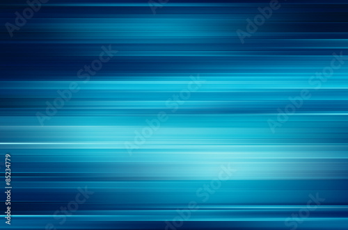 Fotografía digitally generated image of blue light and stripes moving fast