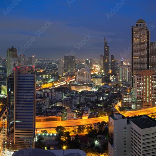 View of bangkok Canvas Print