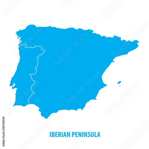 Foto  Iberian Peninsula, Spain and Portugal