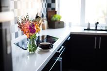 Home Interior Of Modern Kitchen