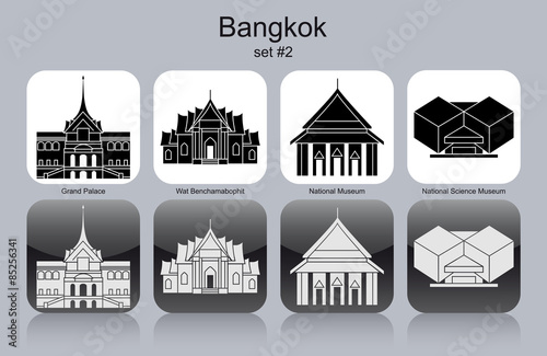 Icons of Bangkok Poster
