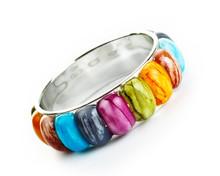 Bracelet With Color Stones