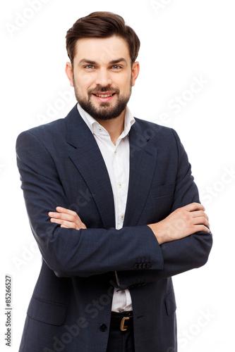 Fotografie, Obraz  Confident businessman portrait