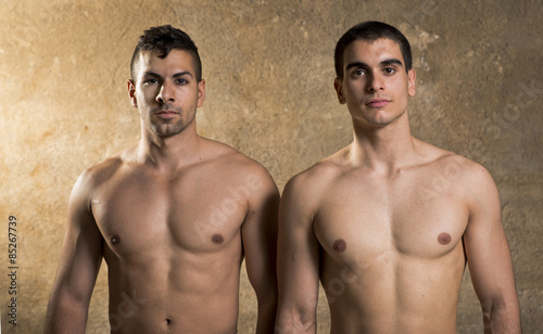 strong sexy naked men