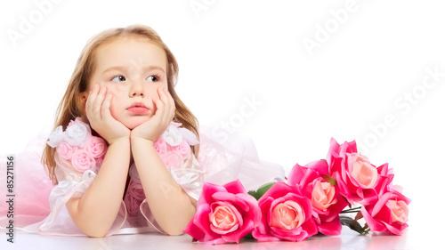 Fotografia, Obraz  Beautiful Little Girl