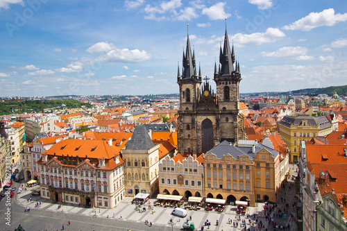 Keuken foto achterwand Praag Altstädter Ring in Prag