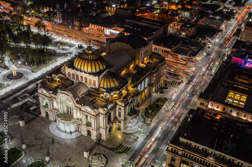 Papiers peints Opera, Theatre Palace of fine arts in Mexico City