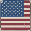 American Us flag vintage background