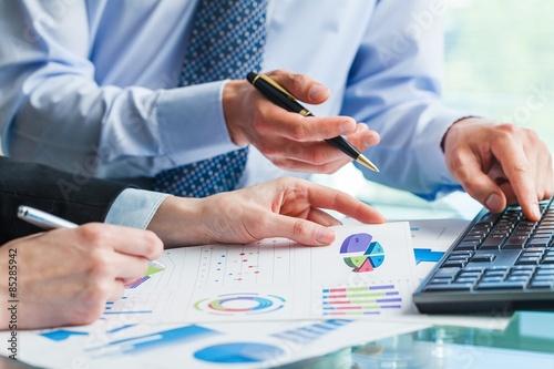 Fototapeta Account, tax, chart. obraz