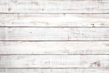 白い木板のテクスチャ...
