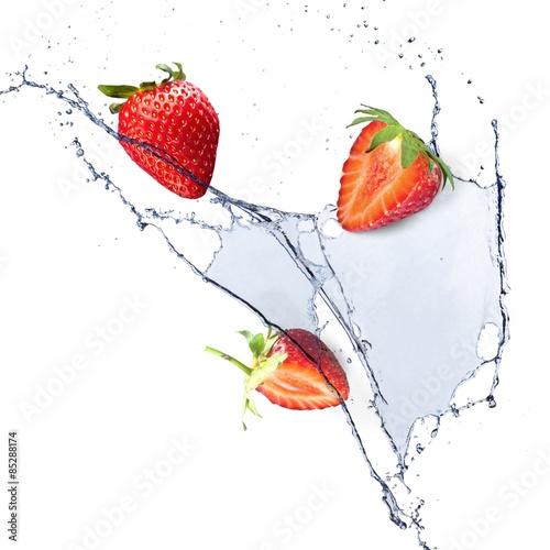 Poster Eclaboussures d eau Water, splashing, splash.