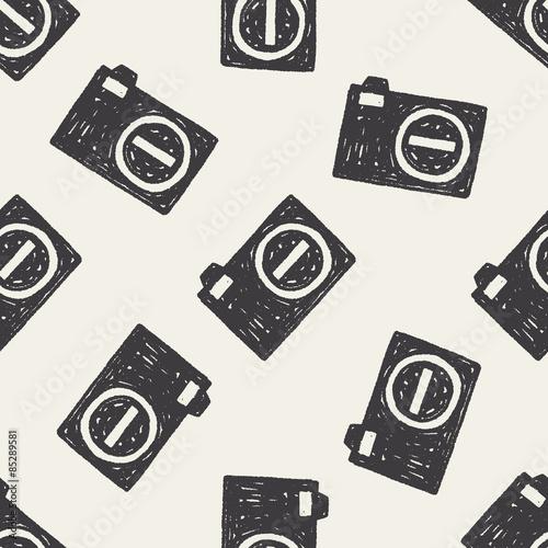 doodle-tlo-wzor-kamery