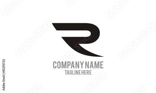 Photo  Logo Letter R
