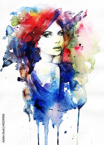 twarz-kobiety-recznie-malowane-ilustracja-mody