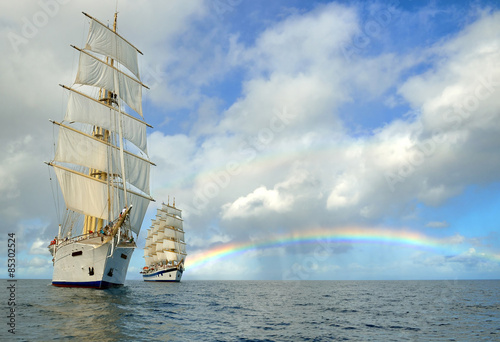 Cruises on sailing ships © Alvov