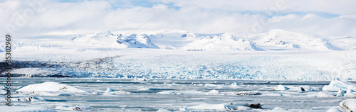 Staande foto Gletsjers Vatnajokull Glacier Iceland