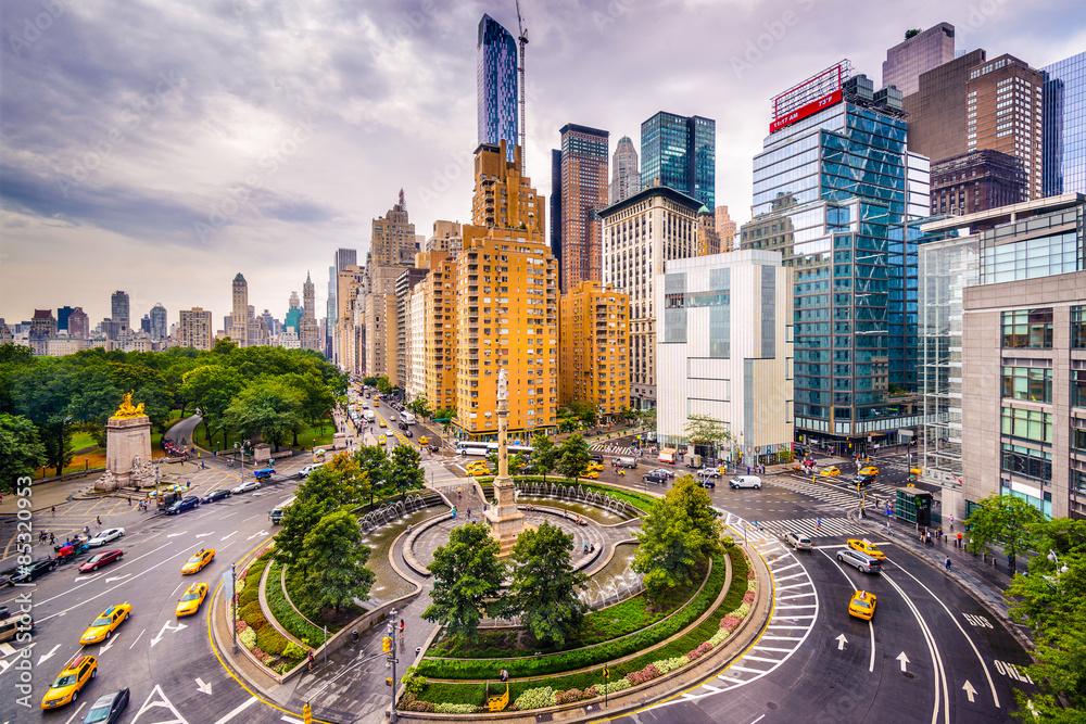 Fototapety, obrazy: Columbus Circle