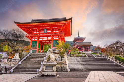 Wall Murals Temple Kiyomizu Temple in Kyoto