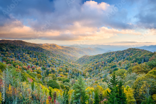Photo  Smoky Mountains in Autumn