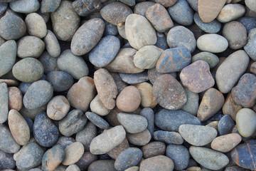 fototapeta abstrakcyjne tło z suchych kamieni okrągłych