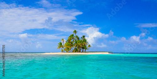 Foto op Canvas Eiland Paradise Tropical Island