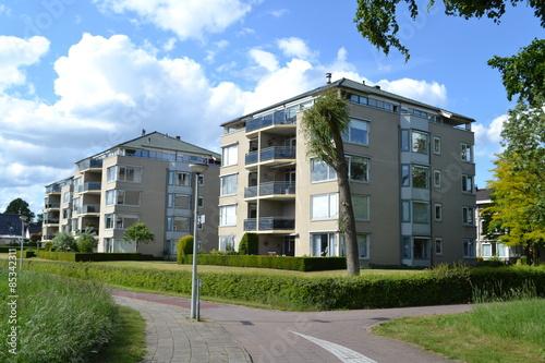 Fényképezés  flats aan de Oude IJssel