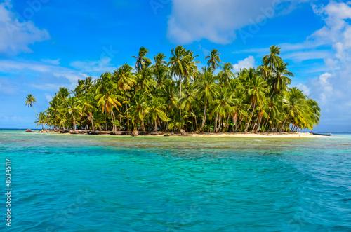 Foto op Plexiglas Caraïben Paradise Tropical Island