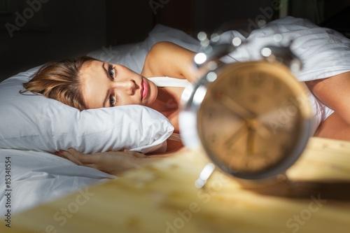 Photo  Sleep, insomnia, night.