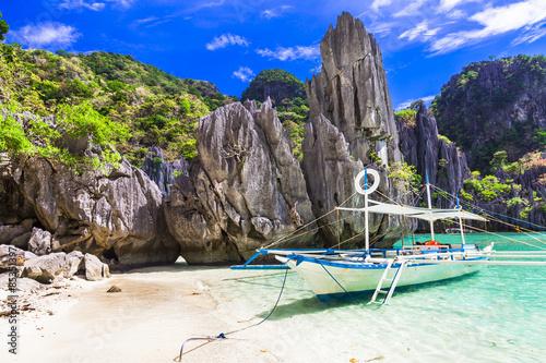 fototapeta na ścianę niesamowite wyspy Filipiny, El Nido. Palawan