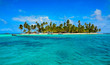 Leinwandbild Motiv Paradise Tropical Island