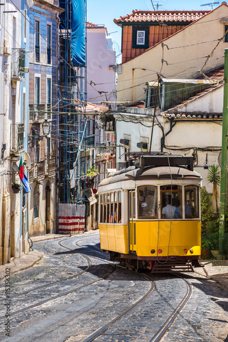 Obraz tramwaj  lisbon-tram