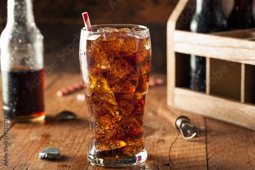 Valokuva  Refreshing Bubbly Soda Pop